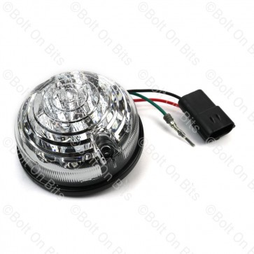 RDX 73mm LSL LED Clear Stop Tail 12-24V