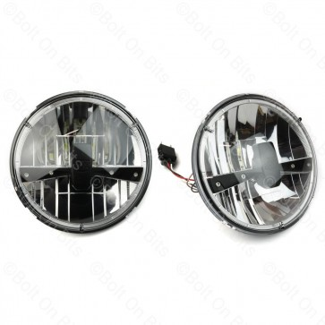 "Pair of RDX LED 7"" RHD Headlights"