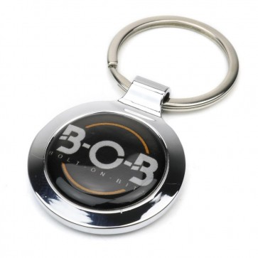Bolt On Bits Bob B-O-B Metal Key Ring Keyring