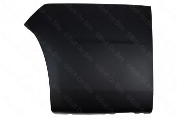 Left Hand Black Rear Wheel Arch Trim