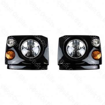 Discovery 1 200Tdi RHD LED Coloured Head Light Conversion