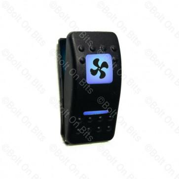 RDX K Switch Blue 2 Speed Fan  Off On On