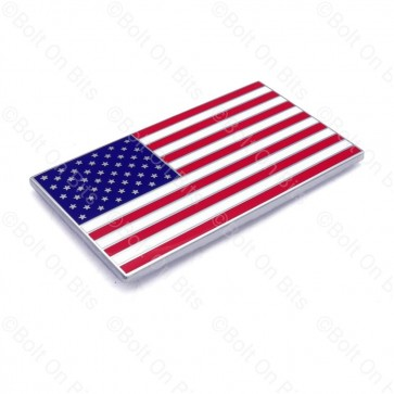 Enamel Flag of the United States, American Flag, Old Glory, Stars and Stripes, Star Spangled Banner