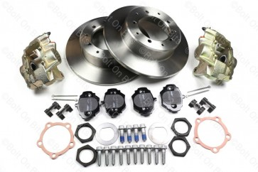 RDX Road Spec Rear Brake Disc, Pad & Caliper Kit Defender 90 1993-2016