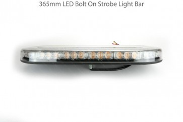 1 RDX 365mm Bolt On LED Strobe Light Bar / Beacon 12V / 24V