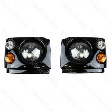 "Disco 1 300Tdi Fronts Britax LED Durite RHD 7"" LED Headlamps"