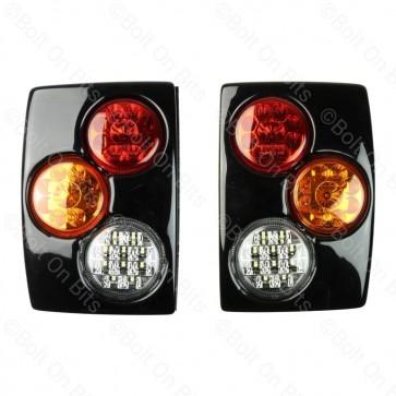 RDX Gloss Black RRC LED Rear Pods - Twin Reverse