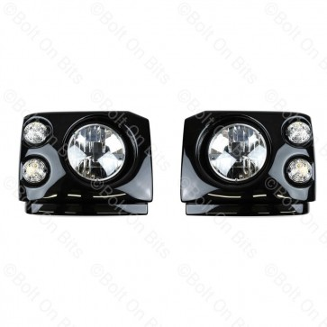 "Disco 1 300Tdi Fronts Clear LED LHD 7"" LED Headlamps"
