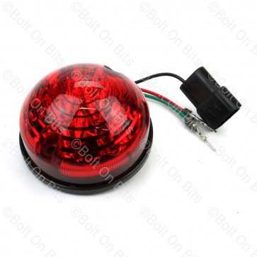 RDX 73mm LSL LED Red Stop Tail 12-24V