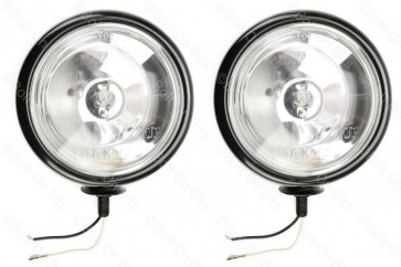 "Pair of Black ""Mini"" Spot Lamps"