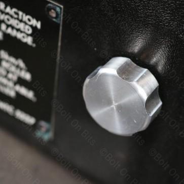 2 RDX Alloy Fusebox cover lid knob Screws Defender Dashboard 1983-2006 Tdi & Td5