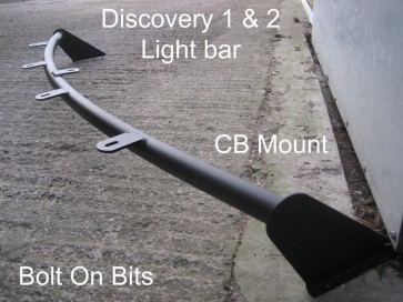 Discovery 1 & 2 Roof Light bar 4 Spot Brackets & CB Mount