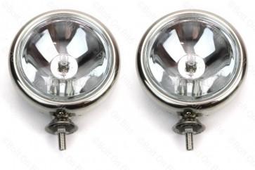 Pair of Stainless Steel Mini Spotlights