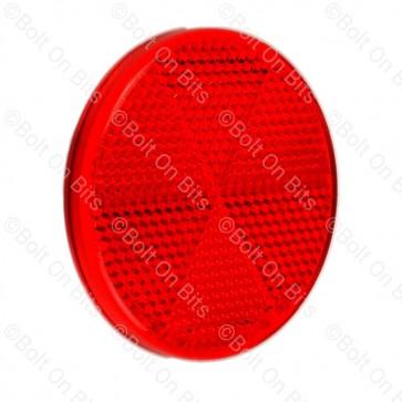 Hella Red 60mm Self Adhesive Reflector