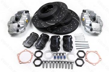 RDX Sport High Performance Vented Complete Front Brake Kit Defender 1993-2016