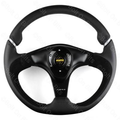 Momo 350mm Nero Leather & Suede/Alcantara Steering Wheel 70PCD