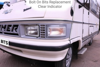 PAIR of Clear Hymer Front Indicator Conversion