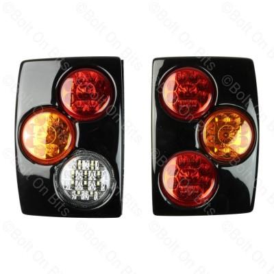 RDX Gloss Black RRC LED Rear Pods - Fog & Reverse