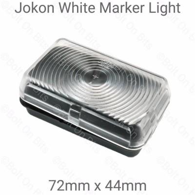 Jokon Clear Rectangular Front Marker