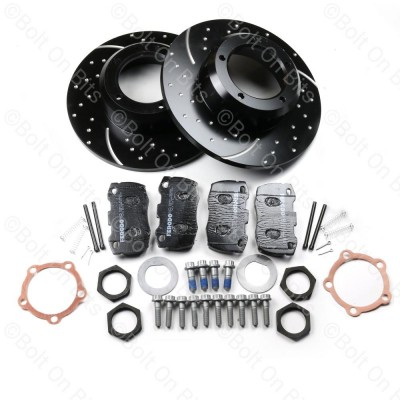 RDX Sport High Performance Solid Front Brake Disc & Pad Kit Defender 1993-2016