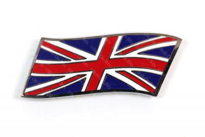 Small Metal Enamel Coloured Flying Union Jack