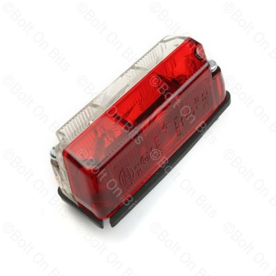 Hella Red & White Side Marker for Hymer & Eriba Motorhomes & Caravans