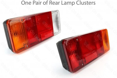 Rear Lamps for Ducato C25 Relay Talbot Based Motorhomes from 1990 to 2002