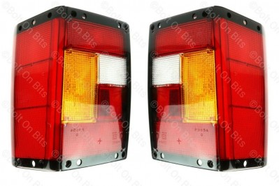 Range Rover Classic Rear Lamp/light Lens kit 1970 to 1995 Early look 2 & 4 door