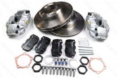 RDX Street Spec Vented Front Brake Disc, Pad & Caliper Kit Defender 1993-2016
