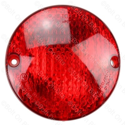 Hella 95mm Round Red Fog Lamp