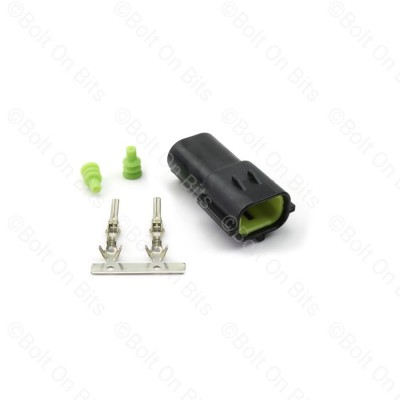 RDX 2 Way Male (Lamp Side) Connector