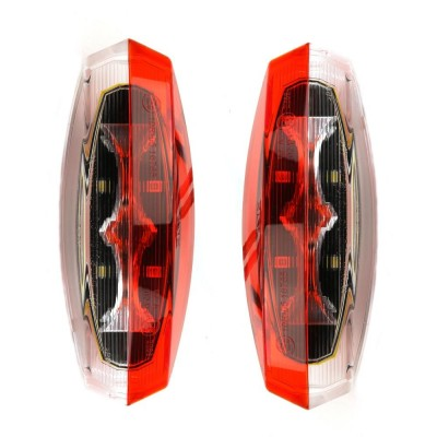 Pair RDX LED Red & White Marker Modules