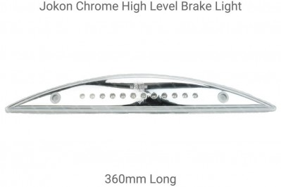 Jokon Chromed 360mm High Level Cresent LED Brake Light