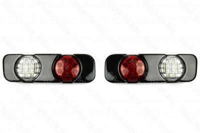 RDX LED Rear Bumper Fog & Reverse lamp/lights Discovery 2 Td5 2002-2004