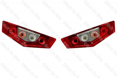 Pair of Hella Caraluna X Rear Lights with LED Tail Function